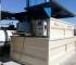 Equipo antiazulado con carga manual, bañera tratamiento de madera